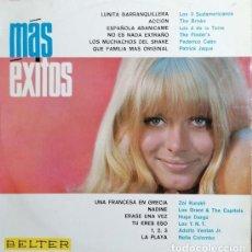 Disques de vinyle: RECOPILACION BELTER MAS EXITOS 1966 - LP VINILO - BRISKS FINDER'S LEE GRANT & CAPITOLS LOS TNT #. Lote 236733105