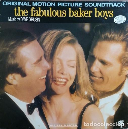BANDA SONORA ORIGINAL DE LA PELICULA BSO LOS FABULOSOS BAKER BOYS - LP VINILO EDITADO EN SUIZA # (Música - Discos - LP Vinilo - Bandas Sonoras y Música de Actores )
