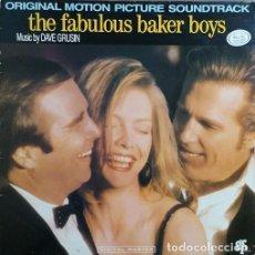 Discos de vinilo: BANDA SONORA ORIGINAL DE LA PELICULA BSO LOS FABULOSOS BAKER BOYS - LP VINILO EDITADO EN SUIZA #. Lote 236736580