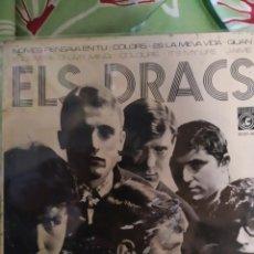Discos de vinilo: ELS DRACS. NOMES PENSAVA EN TU. EP.. Lote 236742110