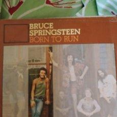 Discos de vinilo: BRUCE SPRINGSTEEN. BORN TO RUN. SINGLE.. Lote 236743315