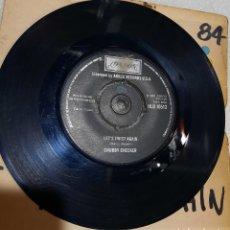 Discos de vinilo: CHUBBY CHECKER - LET'S TWIST AGAIN. EDICION UK. Lote 236744560