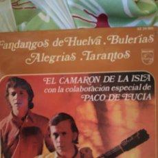Discos de vinilo: EL CAMARÓN DE LA ISLA. LLORANDO ME LO PEDÍA. EP.. Lote 236752045