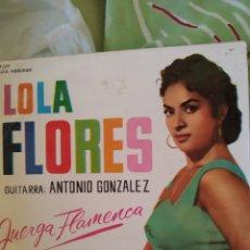 Discos de vinilo: LOLA FLORES. MARÍA BELÉN EP. Lote 236752495
