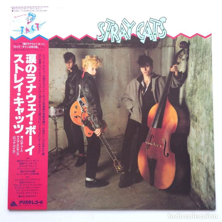 STRAY CATS – STRAY CATS JAPAN,1981 ARISTA (Música - Discos - LP Vinilo - Rock & Roll)