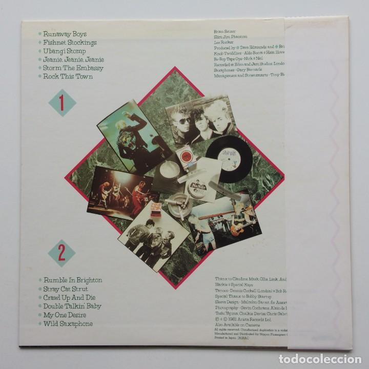 Discos de vinilo: Stray Cats – Stray Cats Japan,1981 Arista - Foto 2 - 236757425