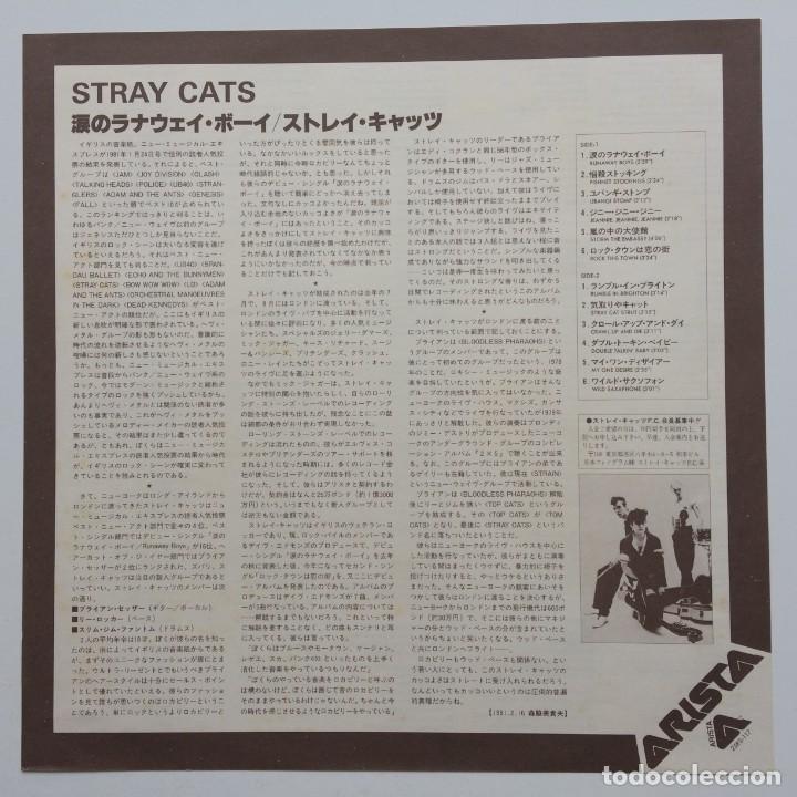 Discos de vinilo: Stray Cats – Stray Cats Japan,1981 Arista - Foto 3 - 236757425