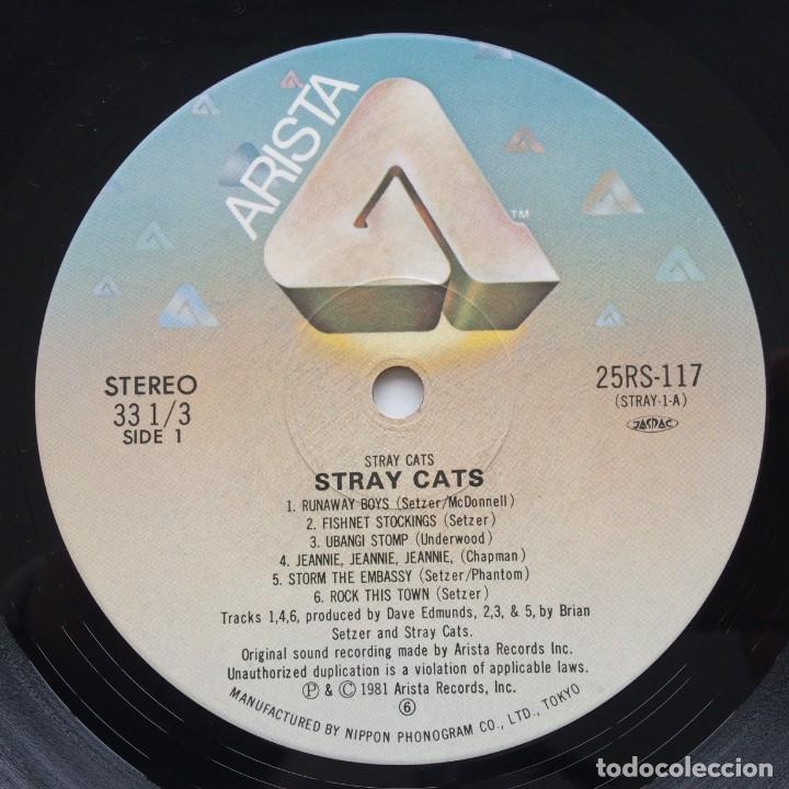 Discos de vinilo: Stray Cats – Stray Cats Japan,1981 Arista - Foto 6 - 236757425