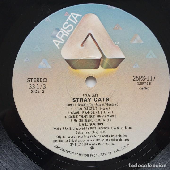 Discos de vinilo: Stray Cats – Stray Cats Japan,1981 Arista - Foto 7 - 236757425
