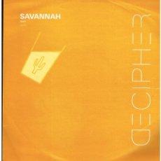 Discos de vinilo: SAVANNAH - SPIRIT - MAXI SINGLE 2000 - ED. UK. Lote 236759480