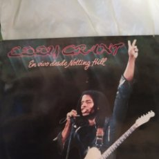Discos de vinilo: EDDY GRANT. EN DIRECTO DESDE NOTTING HILL. LP. Lote 236761180