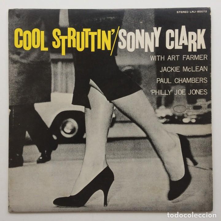 SONNY CLARK – COOL STRUTTIN' JAPAN,1976 BLUE NOTE (Música - Discos - LP Vinilo - Jazz, Jazz-Rock, Blues y R&B)
