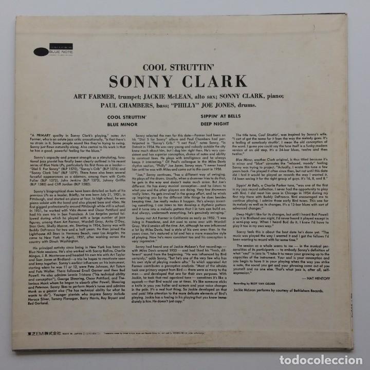 Discos de vinilo: Sonny Clark – Cool Struttin Japan,1976 Blue Note - Foto 2 - 236762415