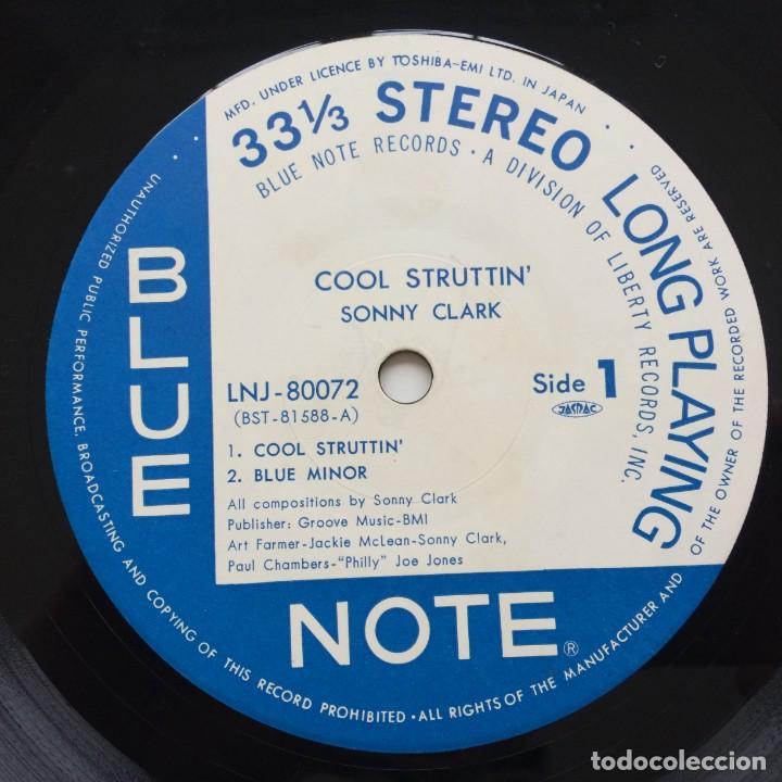 Discos de vinilo: Sonny Clark – Cool Struttin Japan,1976 Blue Note - Foto 4 - 236762415