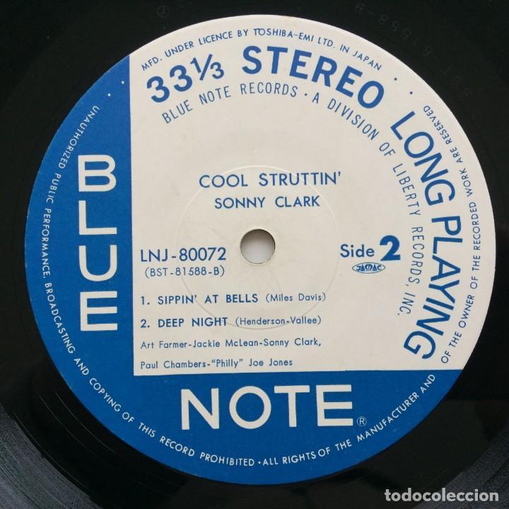 Discos de vinilo: Sonny Clark – Cool Struttin Japan,1976 Blue Note - Foto 5 - 236762415