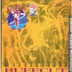 Discos de vinilo: RUFFCUT FEATURING CAROL JONES - RUN TO ME - MAXI SINGLE 1991. Lote 236762665