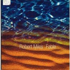 Discos de vinilo: ROBERT MILES - FABLE - MAXI SINGLE 1996. Lote 236764240
