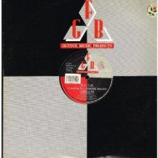 Discos de vinilo: R.F.T.R. FEATURING D.J. SIMONE BALDO - I NEED A FIX - MAXI SINGLE 1990 - ED. ITALIA. Lote 236764665