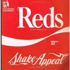 Discos de vinilo: THE REDS - SHAKE APPEAL - MAXI SINGLE 1986 - ED. FRANCIA. Lote 236766085