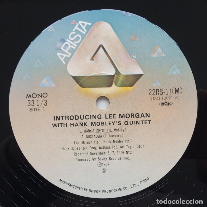 Discos de vinilo: Lee Morgan With Hank Mobleys Quintet – Introducing Lee Morgan Japan,1981 Arista - Foto 5 - 236766865