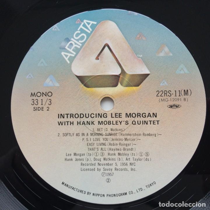 Discos de vinilo: Lee Morgan With Hank Mobleys Quintet – Introducing Lee Morgan Japan,1981 Arista - Foto 6 - 236766865