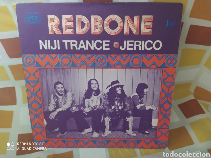 REDBONE–NIJI TRANCE / JERICO. SINGLE VINILO EDICIÓN FRANCIA 1971. PERFECTO ESTADO (Música - Discos - Singles Vinilo - Pop - Rock - Extranjero de los 70)