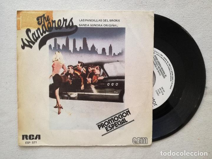 WANDERERS, THE - LAS PANDILLAS DEL BRONX (RCA) SINGLE PROMOCIONAL ESPAÑA - STAND BY ME DION (Música - Discos - Singles Vinilo - Bandas Sonoras y Actores)