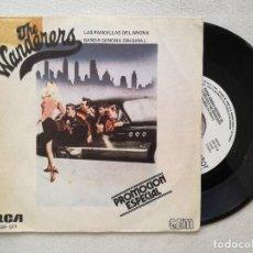 Discos de vinilo: WANDERERS, THE - LAS PANDILLAS DEL BRONX (RCA) SINGLE PROMOCIONAL ESPAÑA - STAND BY ME DION. Lote 236774885