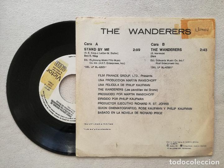Discos de vinilo: WANDERERS, THE - LAS PANDILLAS DEL BRONX (RCA) SINGLE PROMOCIONAL ESPAÑA - STAND BY ME DION - Foto 2 - 236774885