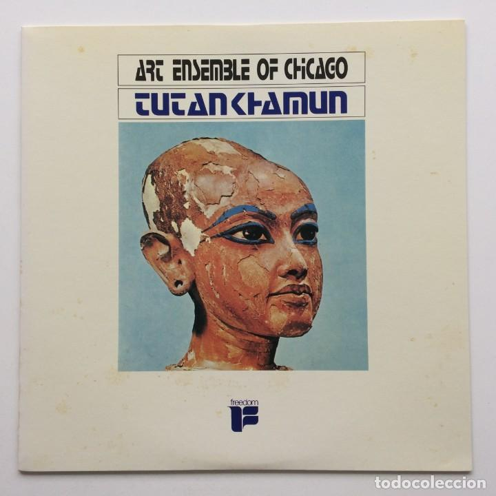 ART ENSEMBLE OF CHICAGO ‎– TUTANKHAMUN JAPAN,1985 FREEDON (Música - Discos - LP Vinilo - Jazz, Jazz-Rock, Blues y R&B)