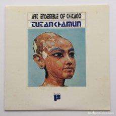 Discos de vinilo: ART ENSEMBLE OF CHICAGO – TUTANKHAMUN JAPAN,1985 FREEDON. Lote 236777830