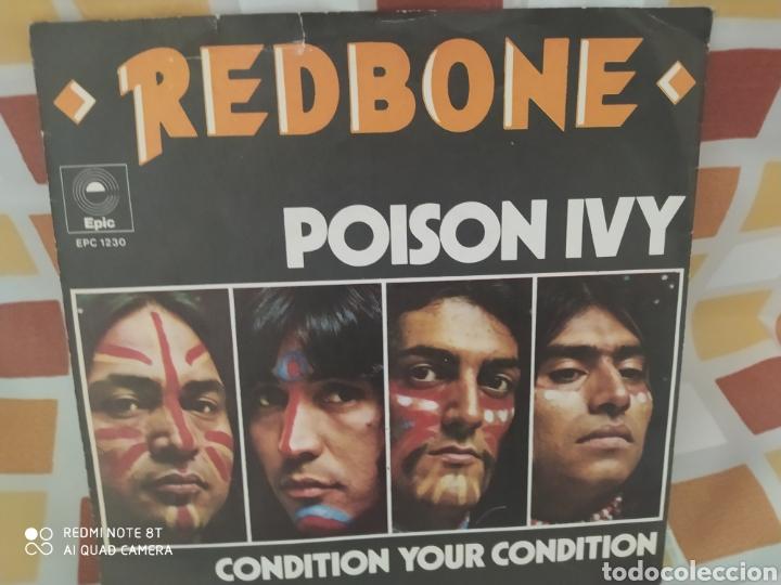 REDBONE. POISON IVY. SINGLE EDICIÓN HOLANDA 1973. BUEN ESTADO (Música - Discos - Singles Vinilo - Pop - Rock - Extranjero de los 70)