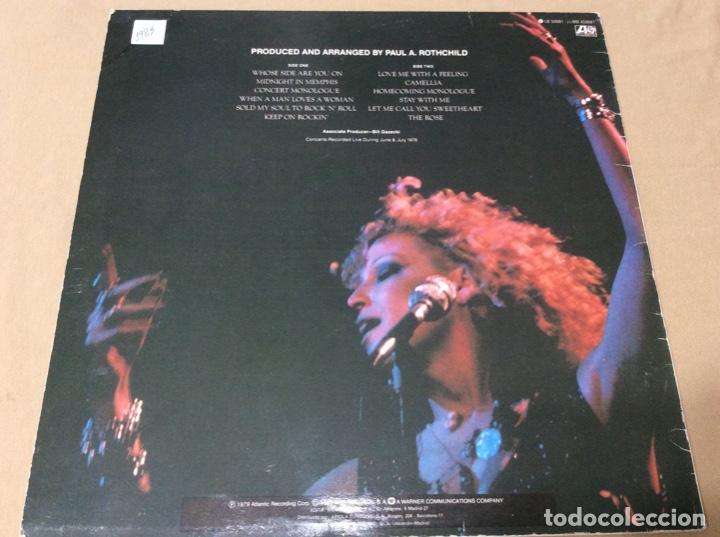 Discos de vinilo: BETTE MIDLER / ALAN BATES - BSO LA ROSA THE ROSE atlantic 1979. España. - Foto 2 - 236781160