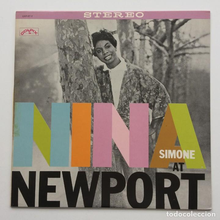 NINA SIMONE – NINA AT NEWPORT JAPAN,1978 PYE RECORDS (Música - Discos - LP Vinilo - Jazz, Jazz-Rock, Blues y R&B)