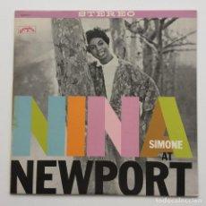 Discos de vinilo: NINA SIMONE – NINA AT NEWPORT JAPAN,1978 PYE RECORDS. Lote 236782210