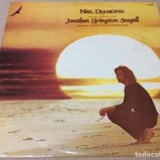 Discos de vinilo: NEIL DIAMOND THE HALL BARTLETT FILM - JONATHAN LIVINGSTON SEAGULL-1973-CIRCULO DE LECTORES. Lote 236782275