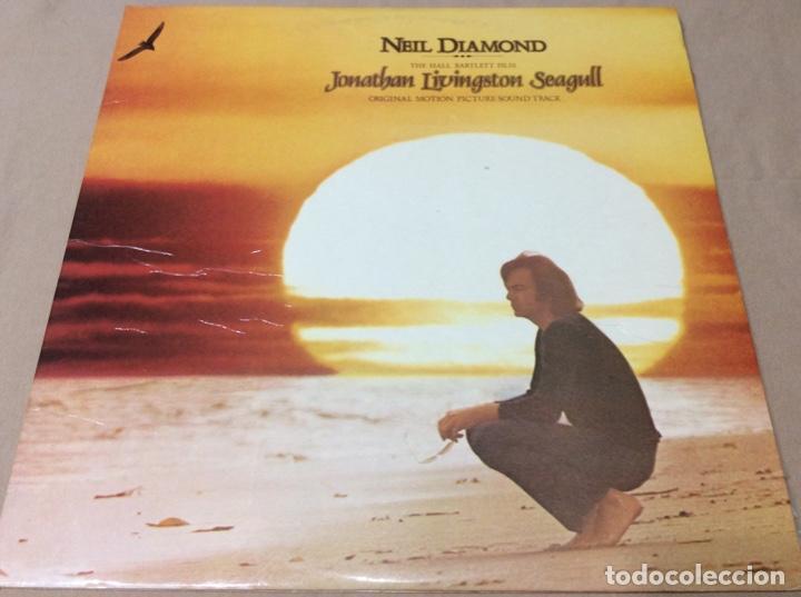 NEIL DIAMOND. JONATHAN LIVINGSTON SEAGULL. CBS 1973. ESPAÑA.PORTADA DOBLE Y LIBRETO. (Música - Discos - LP Vinilo - Bandas Sonoras y Música de Actores )