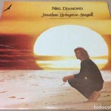 Discos de vinilo: NEIL DIAMOND. JONATHAN LIVINGSTON SEAGULL. CBS 1973. ESPAÑA.PORTADA DOBLE Y LIBRETO.. Lote 236783370