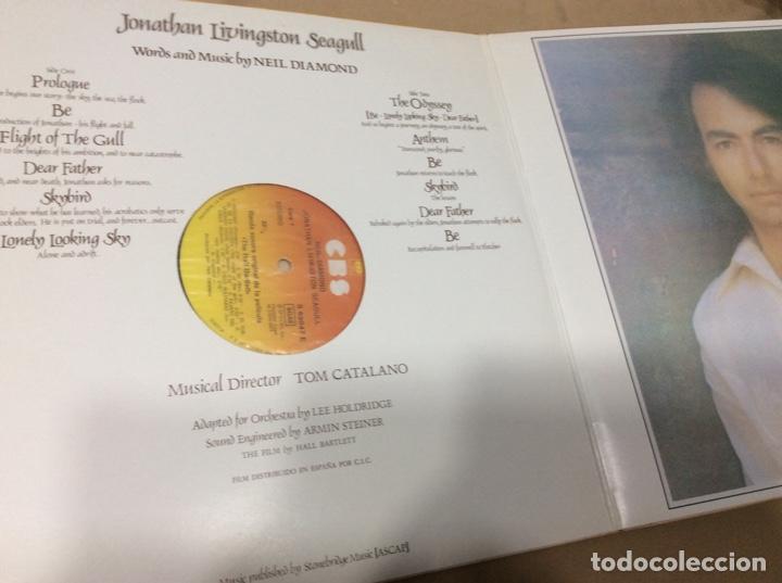 Discos de vinilo: neil diamond. jonathan livingston seagull. cbs 1973. España.portada doble y libreto. - Foto 3 - 236783370