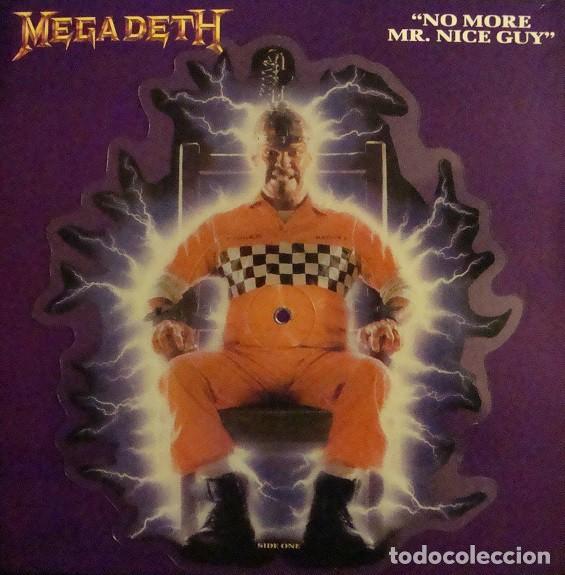 MEGADETH NO MORE MR.NICE (Música - Discos de Vinilo - Maxi Singles - Heavy - Metal)