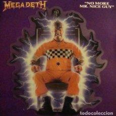 Discos de vinilo: MEGADETH NO MORE MR.NICE. Lote 236784135