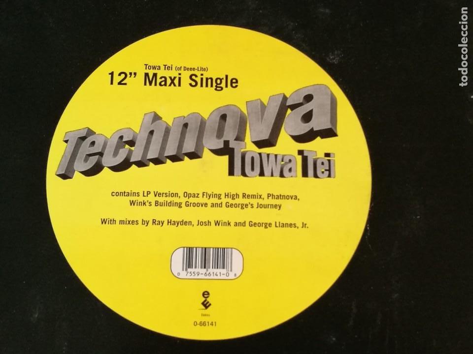 TOWA TEI - TECHNOVA - 1995 (Música - Discos de Vinilo - Maxi Singles - Funk, Soul y Black Music)
