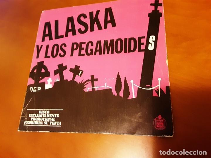 ALASKA EL JARDÍN FLEXIBLE (Música - Discos - Singles Vinilo - Grupos Españoles de los 70 y 80)