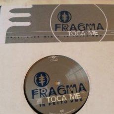 Discos de vinilo: FRAGMA - TOCA ME - 1999. Lote 236789000