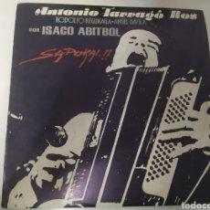 Discos de vinilo: ANTONIO TARRAGÓ ROS - SAPUKAI!! ABITBOL. ARGENTINA. RARO!. Lote 236789110
