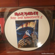 Discos de vinilo: IRON MAIDEN / BEAST OVER HAMMERSMITH 2 / NOT ON LABEL 2006. Lote 236789125