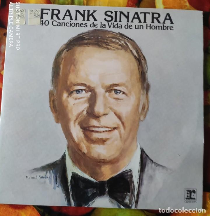 LIQUIDACION LP OK - FRANK SINATRA_40 CANCIONES DE LA VIDA DE UN HOMBRE (1979-1980) DISCO DOBLE (Música - Discos - LP Vinilo - Funk, Soul y Black Music)