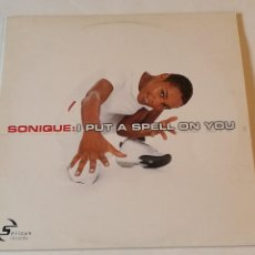 Discos de vinilo: SONIQUE - I PUT A SPELL ON YOU - 2000. Lote 236789440