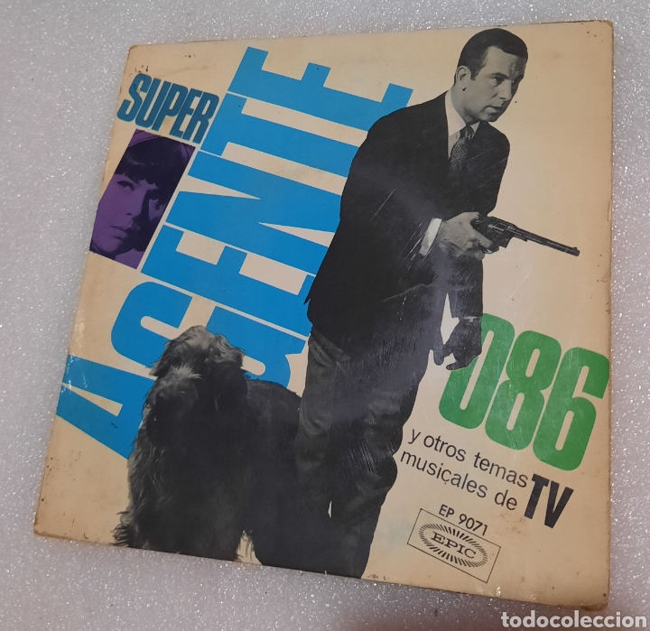 SUPER AGENTE 086. BSO (Música - Discos de Vinilo - EPs - Bandas Sonoras y Actores)