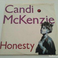 Discos de vinilo: CANDI MCKENZIE - HONESTY. Lote 236790805
